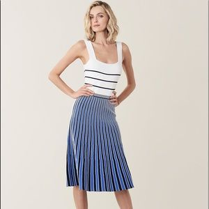NWT Diane Von Furstenberg Yasmin Midi Dress
